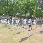 અને મારો દીકરો ક્રિકેટ કોચિંગ ક્લાસમાં ભરતી થયો ………